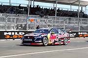 Jamie Whincup (Red Bull Racing Holden). Coates Hire Sydney 500. V8 Supercars Championship. Homebush Street Circuit, NSW. 5-6 Devember 2015. Photo: Clay Cross / photosport.nz