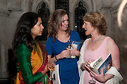 GAURI AGARWAL; LYDIA SOUNDY; GEORGINA MACPHERSON,  THE FABERGÉ BIG EGG HUNT AUCTION in aid of Action for Children. Royal Courts of Justice. London. 20 March 2012.