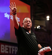 Mervyn King during the World Matchplay Darts 2019 at Winter Gardens, Blackpool, United Kingdom on 23 July 2019.