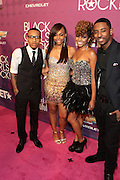 October 13, 2012- Bronx, NY: Cast of BET 106 & Park-(L-R) Bow Wow, Paigion, Miss Mykie and Shorty Da Prince at the Black Girls Rock! Awards Red Carpet presented by BET Networks and sponsored by Chevy held at the Paradise Theater on October 13, 2012 in the Bronx, New York. BLACK GIRLS ROCK! Inc. is 501(c)3 non-profit youth empowerment and mentoring organization founded by DJ Beverly Bond, established to promote the arts for young women of color, as well as to encourage dialogue and analysis of the ways women of color are portrayed in the media. (Terrence Jennings)