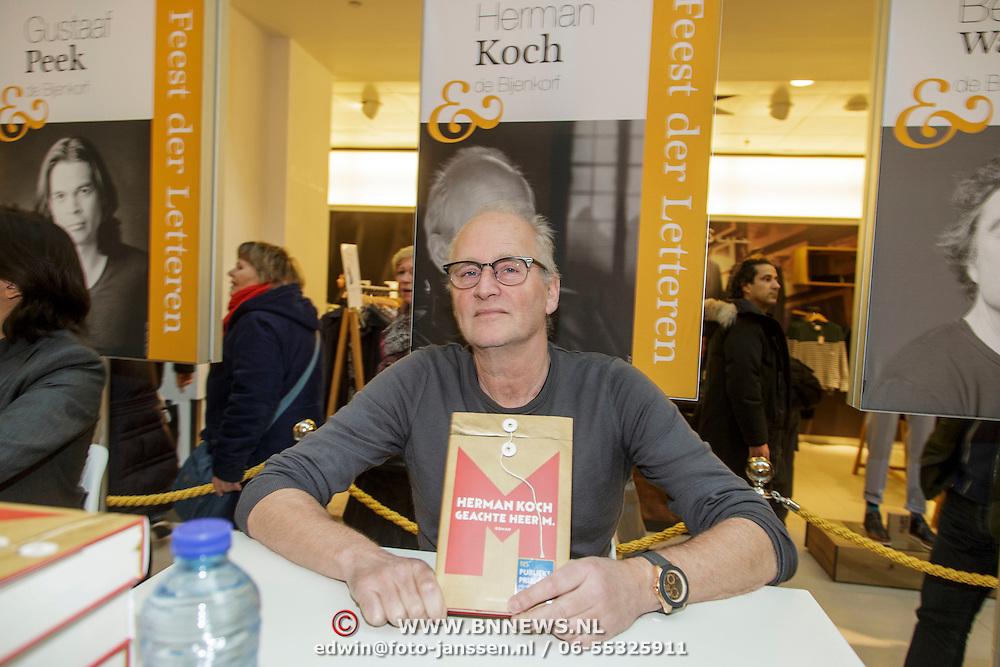 NLD/Amsterdam/20150228 - Feest der Letteren 2015, Herman Koch
