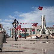 Tunisi, palazzo del Governo.