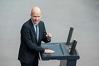 21 MAR 2019, BERLIN/GERMANY:<br /> Ralph Brinkhaus, CDU, CDU/ CSU Fraktionsvorsitzender, haelt eine Rede, BUndestagsdebatte zur Regierungserklaerung der Bundeskanzlerin zum Europaeischen Rat, Plenum, Deutscher Bundestag<br /> IMAGE: 20190321-01-077