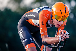 Martijn Tusveld of Roompot-Nederlandse Loterij, Dutch Individual Time Trial Nationals Men Elite, Stokkum, Montferland, The Netherlands, 21 June 2017. Photo by Pim Nijland / PelotonPhotos.com | All photos usage must carry mandatory copyright credit (Peloton Photos | Pim Nijland)