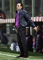 """L'Allenatore della Fiorentina Cesare Prandelli<br /> Fiorentina Trainer Cesare Prandelli<br /> Italian """"Serie A"""" 2006-07<br /> 16 Dic 2006 (Match Day 16)<br /> Fiorentina-Milan (2-2)<br /> """"Artemio Franchi"""" Stadium-Firenze-Italy<br /> Photographer Luca Pagliaricci INSIDE"""