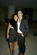 Reena Hammer and Jonathan Rhys Meyers, Not Another Burns night.  Fundraising gala in aid of Clic Sargent and Children's Hospice Association Scotland (CHAS)St. Martin's Lane Hotel.  Monday 3rd March *** Local Caption *** -DO NOT ARCHIVE-© Copyright Photograph by Dafydd Jones. 248 Clapham Rd. London SW9 0PZ. Tel 0207 820 0771. www.dafjones.com.