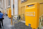 Vatican Post box Vatican City, Rome, Italy