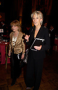 Angela Huth and Joanna Trollope, The Man Booker prize awards ceremony 2004 . The Royal Horticultural Hall, 19 October 2004. ONE TIME USE ONLY - DO NOT ARCHIVE  © Copyright Photograph by Dafydd Jones 66 Stockwell Park Rd. London SW9 0DA Tel 020 7733 0108 www.dafjones.com