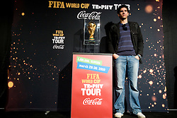 Miha Penko at VIP reception of FIFA World Cup Trophy Tour by Coca-Cola, on March 29, 2010, in BTC City, Ljubljana, Slovenia.  (Photo by Vid Ponikvar / Sportida)