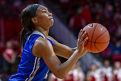 NORMAL, IL - December 20: Ciaja Harrison during a college women's basketball game between the ISU Redbirds and the St. Louis Billikens on December 20 2018 at Redbird Arena in Normal, IL. (Photo by Alan Look)