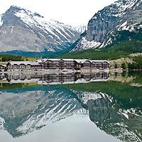 lake view, lake side, swift current inn, many glacier hotel, glacier park