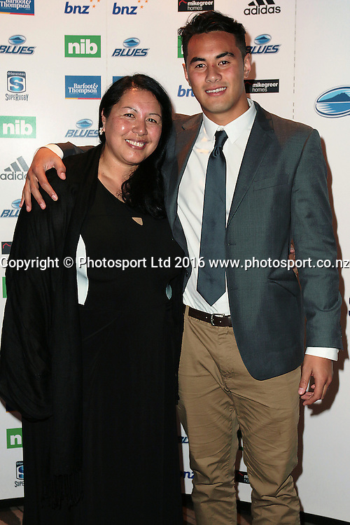 20160711 Blues Awards Night held at Sky City, Auckland. Photo: Dave Mackay / www.photosport.co.nz