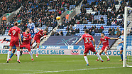 Wigan Athletic v Gillingham 03/02/2018