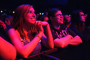 Fans during Dia Frampton's performance supporting the Fray at the Pageant on May 8, 2012.