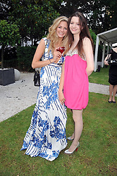 Left to right, TAMSIN EGERTON and TALULAH RILEY at the Tatler Summer Party, The Hempel Hotel, 31-35 Craven Hill Gardens, London W2 on 25th June 2008.<br /><br />NON EXCLUSIVE - WORLD RIGHTS