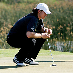 2009 April 22:  Drew Brees quarterback of the NFL's New Orleans Saints on the 18th green during the PGA Tour, Zurich Classic of New Orleans Classic Pro-Am played at TPC Louisiana in Avondale, Louisiana.