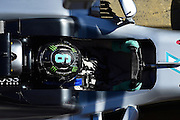 March 1, 2016 - Barcelona, Spain - <br /> <br /> The German driver, Nico Rosberg, from Mercedes Petronas Racing team, driving his car during the first day of Formula One tests days in Barcelona, 1st of March , 2016.<br /> ©Exclusivepix Media