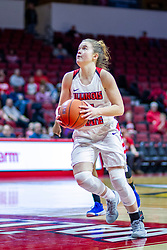 NORMAL, IL - January 03: Mary Crompton during a college women's basketball game between the ISU Redbirds and the Sycamores of Indiana State January 03 2020 at Redbird Arena in Normal, IL. (Photo by Alan Look)