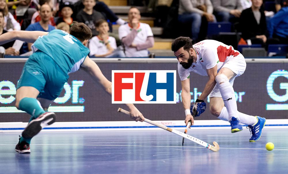 BERLIN - Indoor Hockey World Cup<br /> Bronze: Iran - Australia<br /> Iran won the 3rd place.<br /> foto: NOORANIAN Hamid.DSPORTPICS COPYRIGHT FRANK UIJLENBROEK