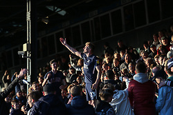 Taylor Moore of Southend United celebrates survival - Mandatory by-line: Arron Gent/JMP - 04/05/2019 - FOOTBALL - Roots Hall - Southend-on-Sea, England - Southend United v Sunderland - Sky Bet League One