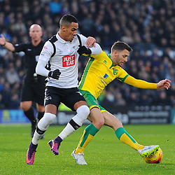 Derby v Norwich | Championship | 26 November 2016