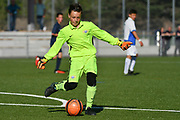 08.04.17; Zuerich; Fussball FCZ Academy - Grasshopper Club - Zuerich FE14 Oberland; <br /> Trivellin Gianluca (Zuerich) <br /> (Andy Mueller/freshfocus)