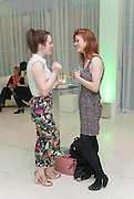 SOPHIE MCSHERA; ROSE LESLIE, English National Ballet Beyond Ballets Russes at the London Coliseum opening night party at the St Martins Lane Hote, Londonl . 22 March 2012.