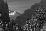 Tatra Mountains National Park in Poland in winter photography by Piotr Gesicki Koscieliska valley