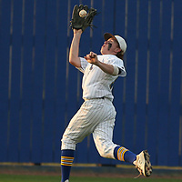 Adam Robison | BUY AT PHOTOS.DJOURNAL.COM<br /> Tupelo center fielder Josh Smith makes the catch for an out against Columbus in the top of the third inning