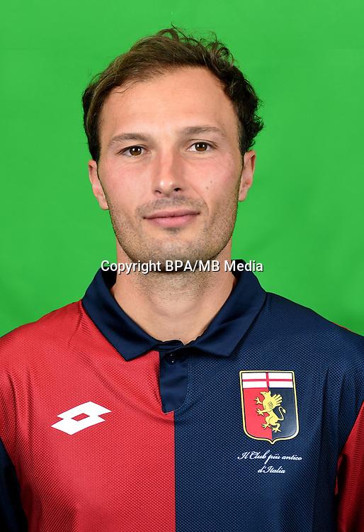 Italian League Serie A -2016-2017 / <br /> ( Genoa CFC ) - <br /> Giovanni Marchese