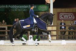 Visser Tommie, (NED), Vario Hippiques Vingino<br /> Grand Prix Freestyle Test<br /> CDI 4* Azelhof Lier 2015<br /> © Hippo Foto - Leanjo de Koster