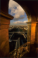 France. Paris. elevated view.view from the dome of the invalid church