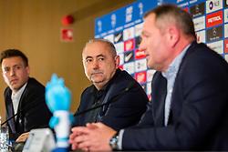 Radenko Mijatovic during Press conference of new head coach of Team Slovenia, on November 27, 2018 in National Football Centre, Brdo pri Kranju, Slovenia. Photo by Ziga Zupan / Sportida