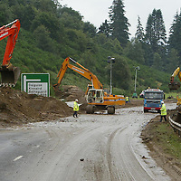 A9 Flood damage....12.8.2004.<br />