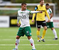 Fotball ,Post-nord ligaen ,  <br /> 10.09.17<br /> Nammo Stadion<br /> Raufoss v HamKam 2-0<br /> Foto : Dagfinn Limoseth , Digitalsport<br /> Truls Jevne Hagen , HamKam