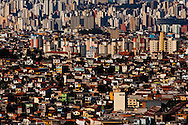 Sao Paulo, Brasil, June 08 of 2006: Aerial view of Sao Paulo downtown . Photo: Caio Guatelli