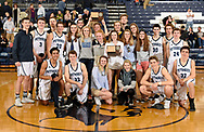 Petoskey Varsity Boys and Girls Basketball Teams Celebrated Big North Championships for 2017-18