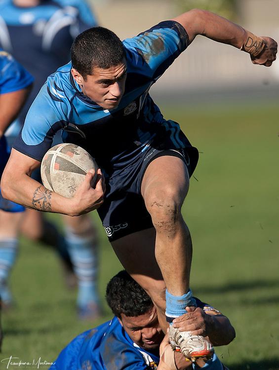 He Tauaa Vs Wakatipu Giants at Elles Rd Ground, Invercargill, New Zealand, Sunday May 27, 2012. Credit:Teaukura Moetaua / Media Sport