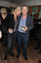 NICK & NETTE MASON at the Linley Christmas Party held at Linley, 60 Pimlico Road, London on 16th November 2011.