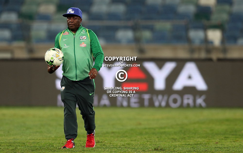 General views during the 2018 Football World Cup qualifier  match between South Africa (Bafana Bafana)  and Cape Verde Islands,at the Moses Mabhida Stadium in Durban South Africa Tuesday, September 5,2017.  (Photo by Steve Haag)