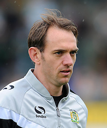 Yeovil Town's James Hayter - Photo mandatory by-line: Harry Trump/JMP - Mobile: 07966 386802 - 25/04/15 - SPORT - FOOTBALL - Sky Bet League One - Yeovil Town v Port Vale - Huish Park, Yeovil, England.