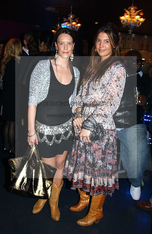 Left to right, ARABELLA MUSGRAVE and AMANDA SHEPPARD at a party hosted by Panerai and the Baglioni Hotel, 60 Hyde Park Gate, London on 6th December 2004.<br /><br />NON EXCLUSIVE - WORLD RIGHTS