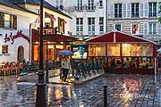 France, Paris, Saint Michel metro station