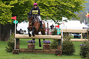 Ruth Tatam on Visual Impact during the International Horse Trials at Chatsworth, Bakewell, United Kingdom on 12 May 2018. Picture by George Franks.