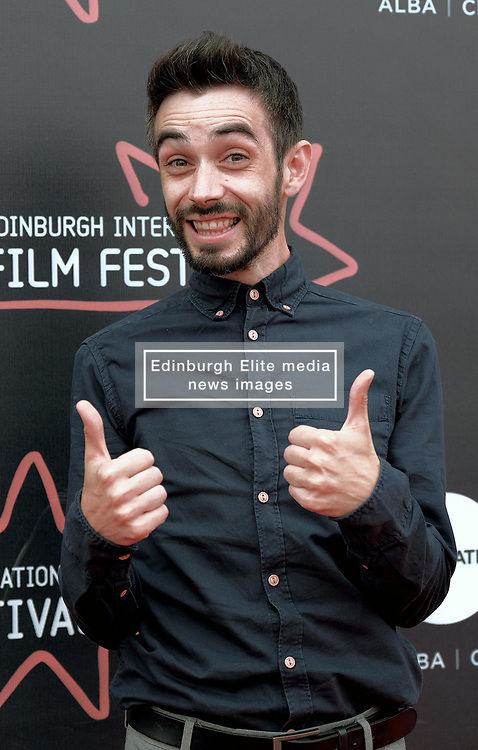 Edinburgh Film Festival, Friday 29th June 2018<br /> <br /> ANNA AND THE APOCALYPSE (UK PREMIERE)<br /> <br /> Pictured: Director John McPhail<br /> <br /> Alex Todd | Edinburgh Elite media