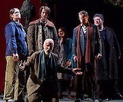 The Siege of Calais <br /> English Touring Opera at Hackney Empire, London, Great Britain <br /> rehearsal <br /> 2nd March 2015 <br /> <br /> music by Dinizetti <br /> words by Salvatore Cammarano <br /> directed by James Conway <br /> <br /> Craig Smith as Eustachio <br /> <br /> <br /> <br /> Photograph by Elliott Franks <br /> Image licensed to Elliott Franks Photography Services