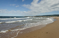 Whale Cove beach, Margaree Harbour, Cape Breton Island Nova Scotia