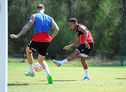 Korey Smith of Bristol City Shoots  - Photo mandatory by-line: Joe Meredith/JMP - Mobile: 07966 386802 - 17/07/2015 - SPORT - Football - Albufeira -  - Pre-Season Training