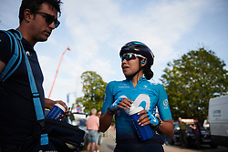Paula Patino Bedoya (COL) after Ladies Tour of Norway 2019 - Stage 2, a 131 km road race from Mysen to Askim, Norway on August 23, 2019. Photo by Sean Robinson/velofocus.com