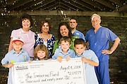 Check presentation, The tomorrow Fund for Children with Cancer, Hasbro Children's Hospital, Providence, RI.
